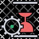 Processing Time Span Icon