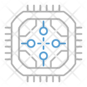 Abstract Technology Circuit Icon
