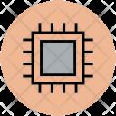 Processor Microchip Microprocessor Icon