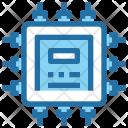 Technology Processor Chip Icon