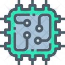 Cpu Circuit Chip Icon
