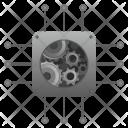 Processor Engine Ram Icon