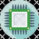 Processor Microprocessor Chip Icon