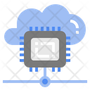 Cpu Processor Cloud Icon