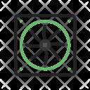 Processor Fan Circuit Icon
