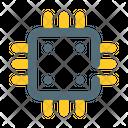 Processor Board Digital Robotic Icon