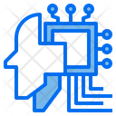 Processor Robotics Brain Icon