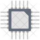 Processor Chip Integrated Circuit Computer Chip Icon