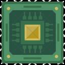 Core Processor Chip Icon