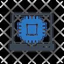 Processor Chip Icon