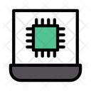 Chip Processor Laptop Icon