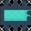 Electronics Chip Hardware Icon