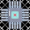 Artboard Processor Microchip Icon