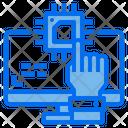 Ai Hand Chip Icon