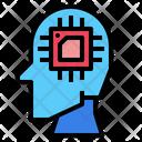 Ai Robotics Brain Icon