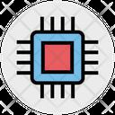 Processor Chip Processor Intelligence Icon