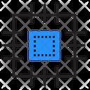 Cpu Microscheme Chip Icon