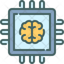 Chip Cpu Brain Icon