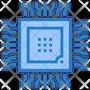 Processor Chip Hardware Network Icon