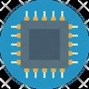 Processor Chip Microchip Computer Chip Icon
