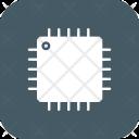 Processor Chip Microchip Icon