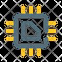 Processor data digital Icon