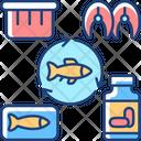 Producing Fish Fishing Icon