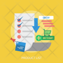 Product List Marketing Icon