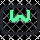 Podium Platform Advertising Icon
