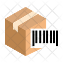 Barcode Parcel Package Icon