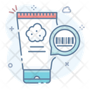 Product Packaging Product Code Product Scanner Icon