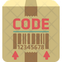 Mtracking Code Product Barcode Box Barcode Icon