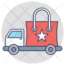 Delivery Van Commercial Icon