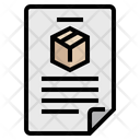 Product Description Icon