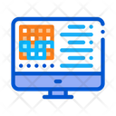 Manufacturing Computer Automation Icon