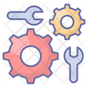 Product Development Gear Wrench Icon