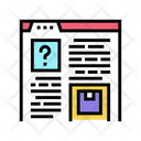 Product Characteristics Review Icon