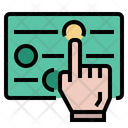 Product Filter Adjust Hand Icon