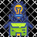 Product Idea Bulb Icon
