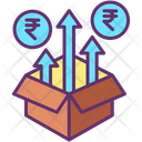 Product Investment Rupee Icon