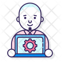 Product Manager Management Business Manager Icon
