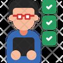 Checklist Check Productivity Icon