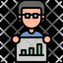 Growth Finance Productivity Icon