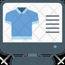 Web Shirt Shopping Icon