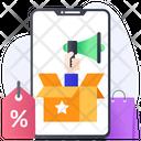 Parcel Promotion Product Promotion Online Promotion Icon
