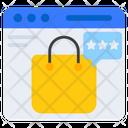 Shopping Ratings Shopping Reviews Shopping Feedback Icon