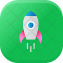 Product Release Launch Rocket Icon