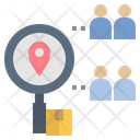 Research Target Market Icon
