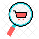 Product Search Find Product Online Shopping Icon
