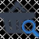 Shopping Basket Search Icon